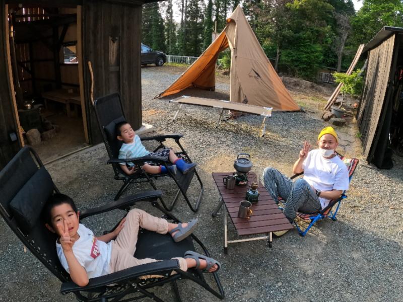 テント宿泊1