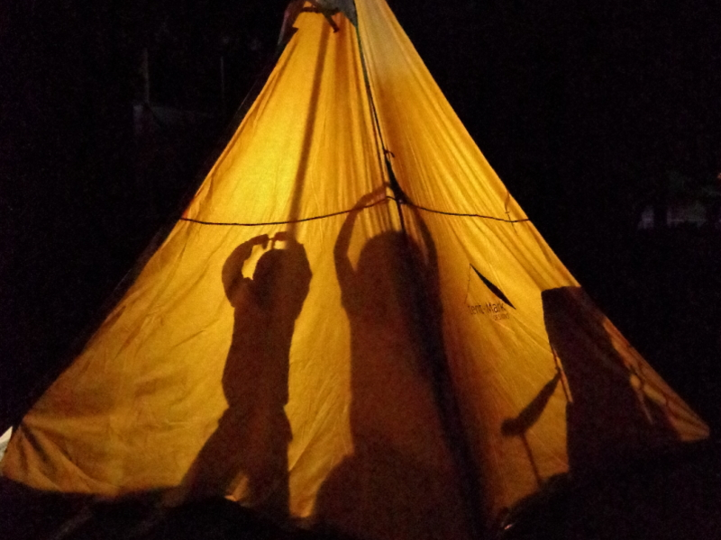 テント宿泊3
